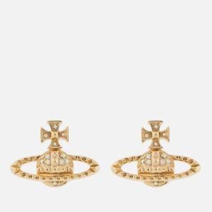 Vivienne Westwood Women's Mayfair Bas Relief Earrings - Gold Crystal AB