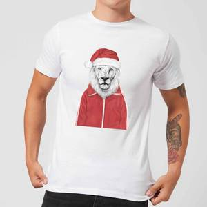 Balazs Solti Santa Lion Men's T-Shirt - White