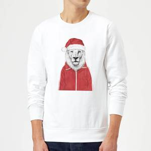 Balazs Solti Santa Lion Sweatshirt - White