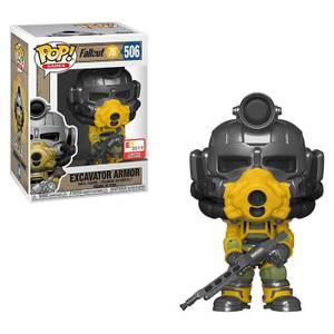 Figura Funko Pop! - Armor Con Pistola - Fallout 76