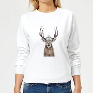 Balazs Solti Lets Go Outside Women's Sweatshirt - White