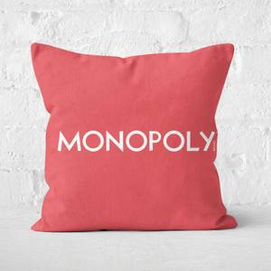 Monopoly Pattern Square Cushion