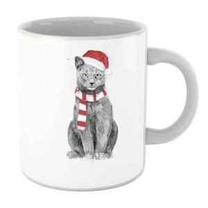 Balazs Solti Xmas Cat Mug