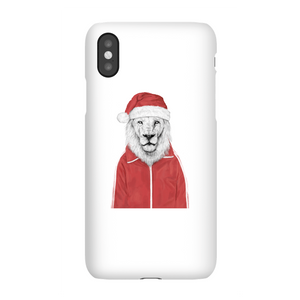 Balazs Solti Santa Lion Phone Case for iPhone and Android