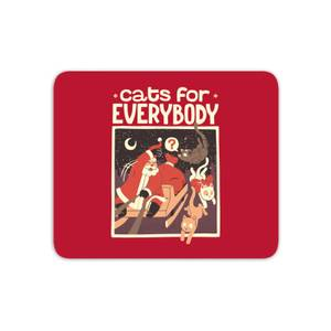 Tobias Fonseca Cats For Everybody Mouse Mat