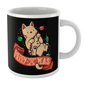 Tobias Fonseca Merry Xmas Cat Mug