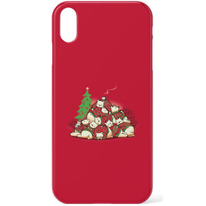 Tobias Fonseca Good Night Xmas Bear Phone Case for iPhone and Android