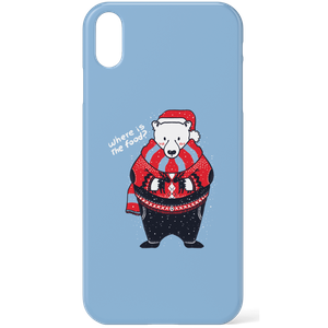 Tobias Fonseca Where Is The Food Phone Case for iPhone and Android