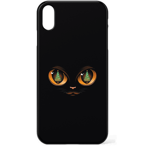 Tobias Fonseca Xmas Cat Attack Phone Case for iPhone and Android