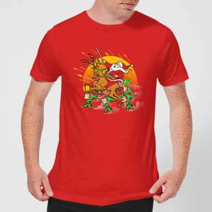 Tobias Fonseca Xmas War Men's T-Shirt - Red