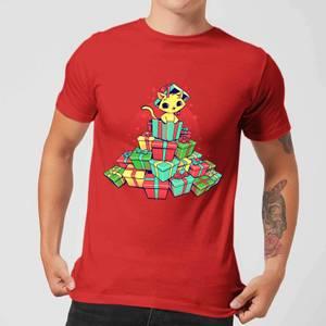Tobias Fonseca Tons Of Xmas Gifts Men's T-Shirt - Red