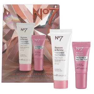 Boots No7 The Restore & Renew Duo