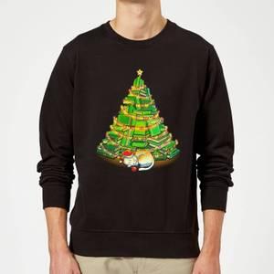 Tobias Fonseca My Favorite Xmas Tree Sweatshirt - Black