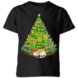 Tobias Fonseca My Favorite Xmas Tree Kids' T-Shirt - Black
