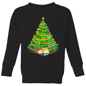 Tobias Fonseca My Favorite Xmas Tree Kids' Sweatshirt - Black
