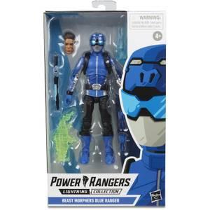 Power Rangers Lightning Collection - Figurine Ranger bleu