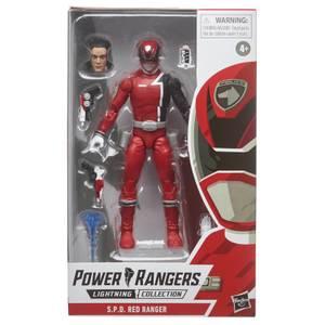 Power Rangers Lightning Collection - Figurine Ranger rouge S.P.D.