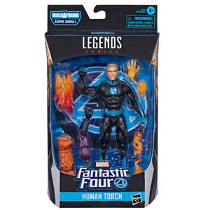 Hasbro Marvel Legends Marvel's Fantastic Four Human Torch 6 Inch Action Figure