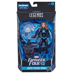 Hasbro Marvel Legends Marvel's Fantastic Four Invisible Woman 6 Inch Action Figure
