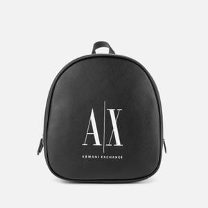 Armani Exchange Women's Icon Backpack - Black