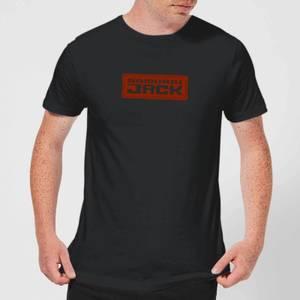 Samurai Jack Classic Logo Men's T-Shirt - Black