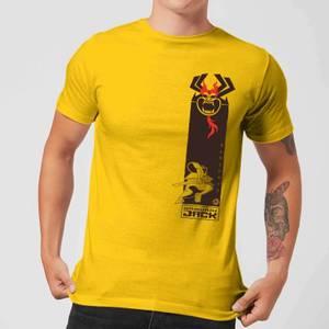 T-Shirt Samurai Jack Samurai Stripe - Giallo - Uomo