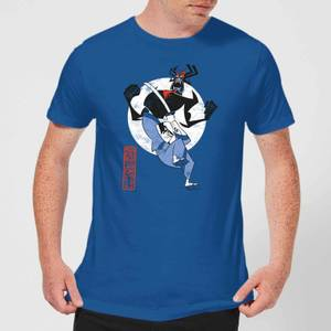 Samurai Jack Eternal Battle Men's T-Shirt - Royal Blue