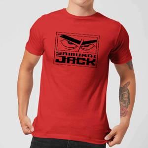 Samurai Jack Stylised Logo Men's T-Shirt - Red