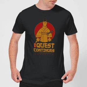 Samurai Jack My Quest Continues Men's T-Shirt - Black