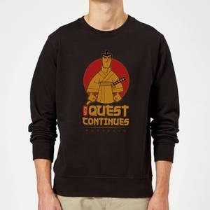 Samurai Jack My Quest Continues Sweatshirt - Black