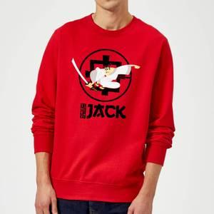 Samurai Jack They Call Me Jack Sweatshirt - Red