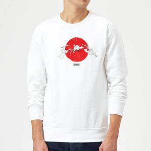 Felpa Samurai Jack Sunrise - Bianco