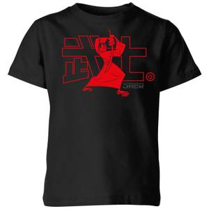 Samurai Jack Way Of The Samurai Kids' T-Shirt - Black