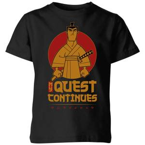 Samurai Jack My Quest Continues Kids' T-Shirt - Black