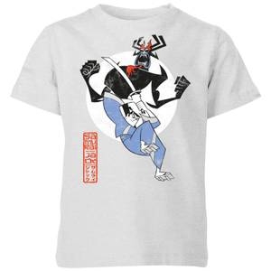 Samurai Jack Eternal Battle Kids' T-Shirt - Grey