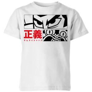 Samurai Jack Arch Nemesis Kids' T-Shirt - White