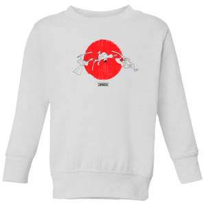 Samurai Jack Sunrise Kids' Sweatshirt - White