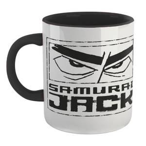 Samurai Jack Logo Mug - White/Black
