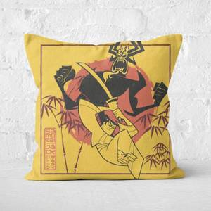 Samurai Jack Eternal Battle Square Cushion