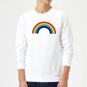 Classic Rainbow Sweatshirt - White
