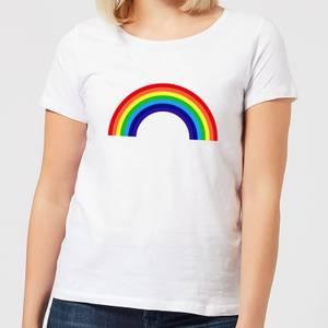 Classic Rainbow Women's T-Shirt - White