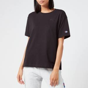 Champion Women's Oversized Crew Neck T-Shirt - Black