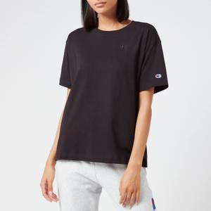 Champion Women's Oversized Crew Neck T-Shirt - Black