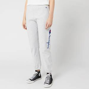 Champion Women's Side Logo Cuff Pants - Grey