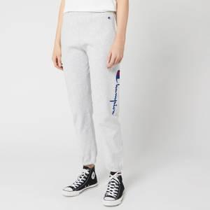 Champion Women's Side Logo Cuff Pants - Grey