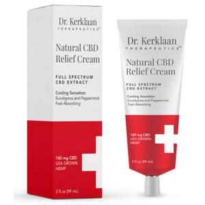 Dr Kerklaan Natural CBD Relief Cream 2 oz