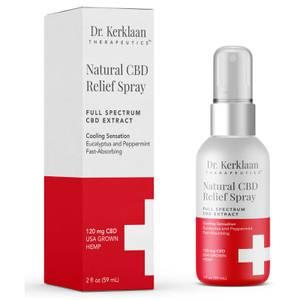 Dr Kerklaan Natural CBD Relief Spray 2 oz
