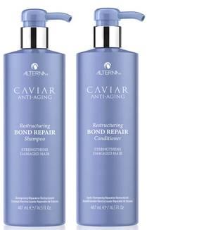 Alterna Caviar Anti-Ageing Restructuring Bond Repair Shampoo and Conditioner 16.5 oz