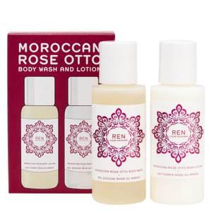 REN Clean Skincare Moroccan Rose Mini Body Duo Kit