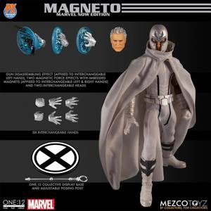 Mezco One:12 Collective Marvel Comics Magneto Action Figure (Marvel NOW! Version)